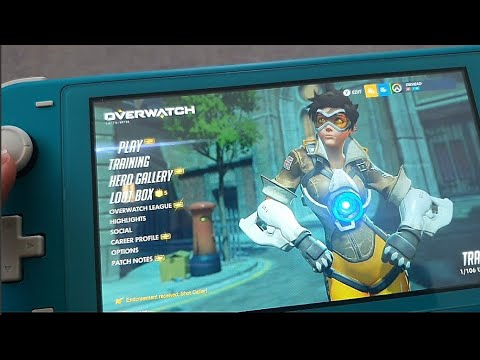 (New) Why i hate overwatch on the switch lite!