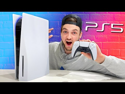 (New) *ps5* unboxing + gameplay! (i got the playstation 5 early)