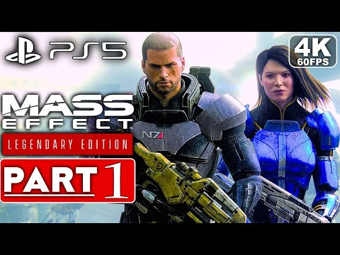 (New) Mass effect legendary edition ps5 gameplay walkthrough part 1 [4k 60fps] - no commentary (full game)