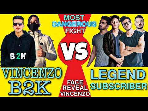 (New) 2vs4 | born2kill(b2k) e vincenzo vs legend subscribers clash squad custom || vincenzo face reveal👽📌🎯