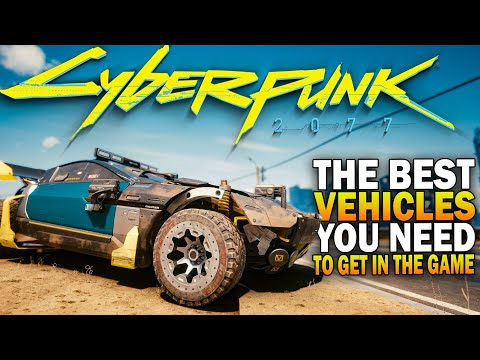(New) The top 5 best cars you need to get in cyberpunk 2077