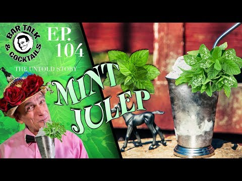 (HD) How to make a mint julep and the kentucky derby