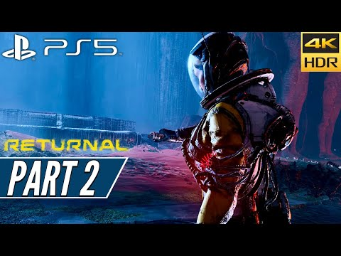 (New) Returnal (ps5) walkthrough gameplay 4k 60fps hdr + ray tracing [part 2] house - no commentary