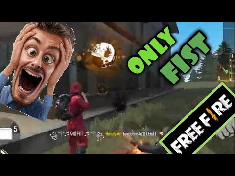 (New) [b2k] born 2 kill new challenge only fist no guns.challenge accepted played by me.freefire gameplay.