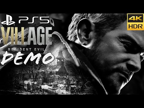 (New) Resident evil village castle demo (ps5) walkthrough 4k 60fps hdr + ray tracing