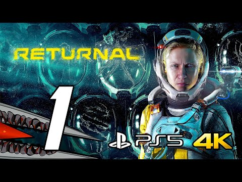 (New) Returnal (ps5) gameplay walkthrough part 1 - no commentary, 4k 60fps