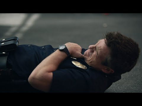 (HD) Nolan gets shot during a bust - the rookie