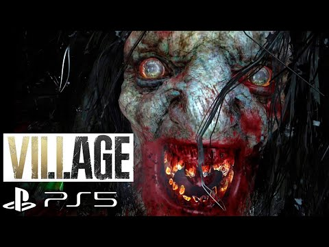 (New) Resident evil 8 village werewolf transformation scene no commentary