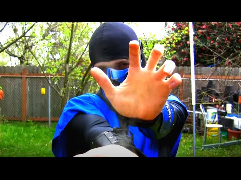 (New) Real mortal kombat - scorpion vs sub-zero the envelope | mk9 parody!