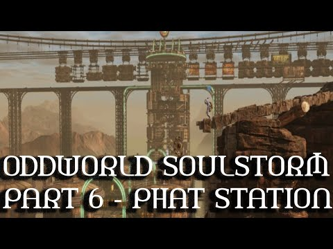 (New) Oddworld soulstorm (ps5) gameplay walkthrough - part 6 phat station