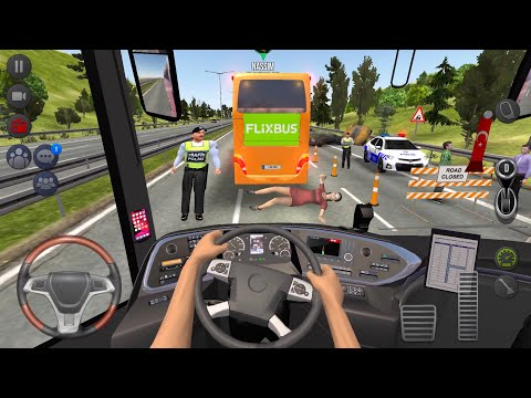 (New) Europe bus accident 🚍👮‍♂️ bus simulator : ultimate multiplayer! bus wheels games android