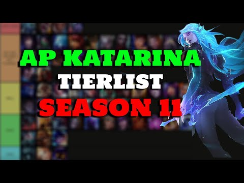 (New) Season 11 ap katarina matchup tier list | tips and champion counters vs katarina | league of legends