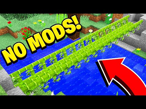 (New) 5 things you didnt know you could build in minecraft! (no mods!)
