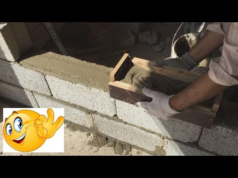 (HD) Handmade cement mortar spreader tool for block work
