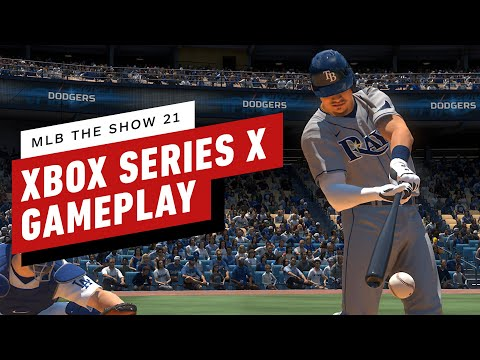 (New) Mlb the show 21 - 10 minutes of 4k gameplay on xbox series x