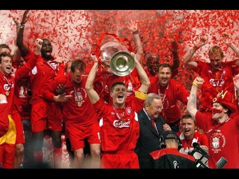 (New) Liverpool fc 2005 champions league winners !!!!!!!!!! a moment in history...