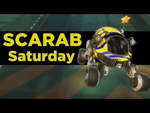 (New) Rocket league | scarab saturday (freestyle gameplay)
