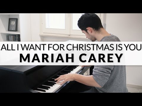 (New) Mariah carey - all i want for christmas is you | piano cover + sheet music