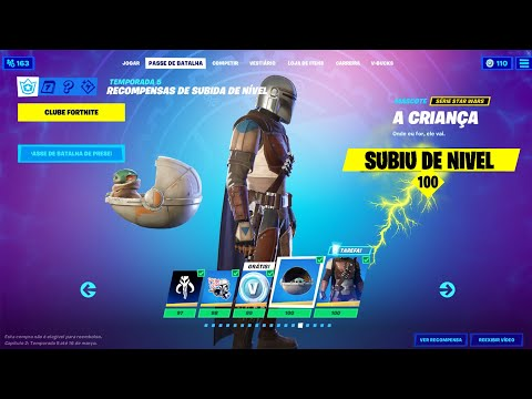 (New) Como upar level 100 mais rapido na nova temporada 5 capitulo 2 fortnite