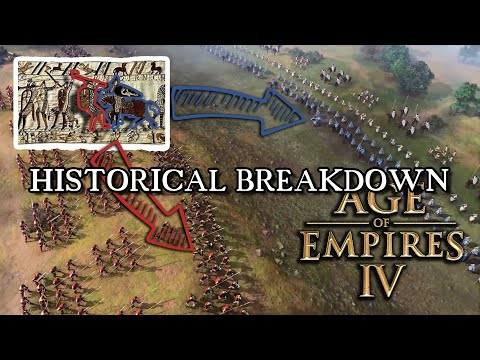 (New) Age of empires 4 norman campaign trailer - historical breakdown