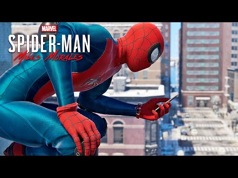 (New) Marvels spider-man: miles morales #1 ps5 | o inicio da história (playstation 5 gameplay português)