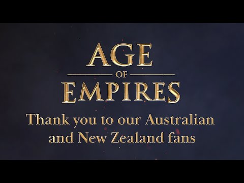 (New) Age of empires: fan preview - thank you to our australian and new zealand fans!