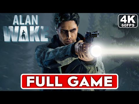 (New) Alan wake gameplay walkthrough part 1 full game [4k 60fps pc ultra] - no commentary