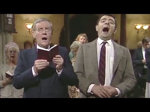 (Ver Filmes) Sneaking sweets in church | mr. bean official