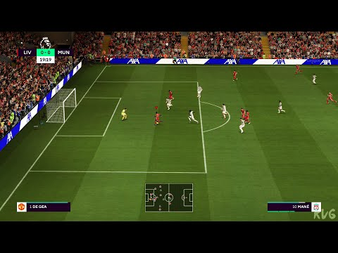 (New) Fifa 21 - liverpool vs manchester united - gameplay (ps5 uhd) [4k60fps]