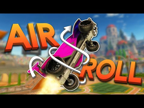 (HD) How to master air roll control in rocket league