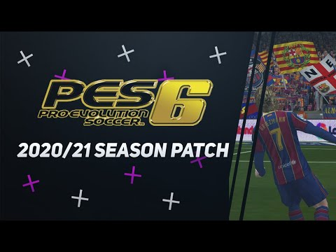 (New) Pes 6 in 2021! 2020 21 season update patch!