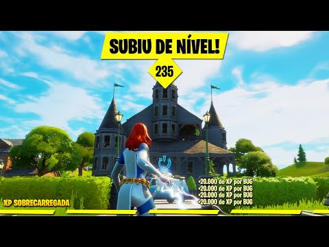 (New) Novo bug para ganhar xp infinito no fortnite!
