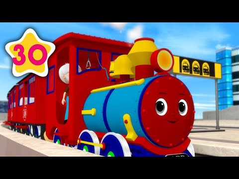 (Ver Filmes) Choo choo train v2 | +more kids songs | nursery rhymes | little baby bum