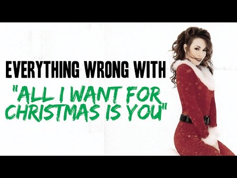 (VFHD Online) Everything wrong with mariah carey - all i want for christmas is you