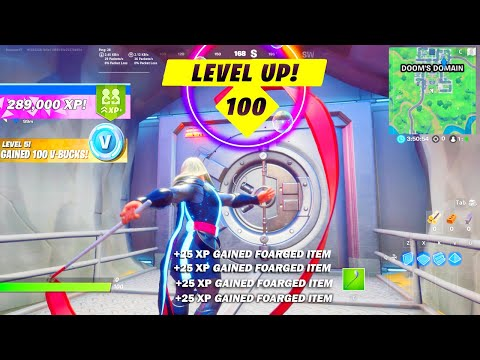 (New) How to level up fast in season 4! (fortnite xp glitch)