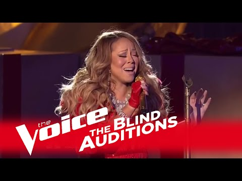 (VFHD Online) The voice 2014 - mariah carey blind audition: all i want for christmas is you