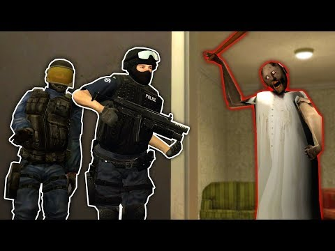 (New) We became swat members and raided grannys apartment in gmod! - garrys mod multiplayer