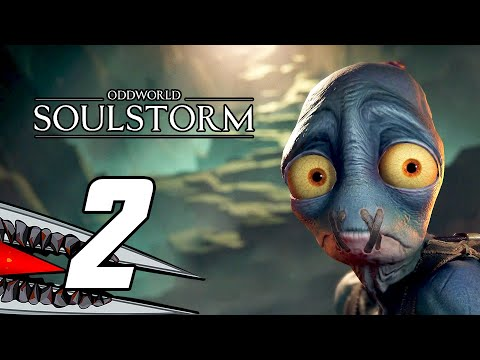 (New) Oddworld: soulstorm (ps5) gameplay walkthrough part 2 - no commentary