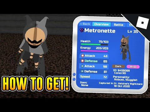 (HD) How to get metronette in loomian legacy | roblox