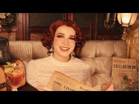 (New) Asmr cocktails on a 1920s train