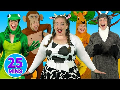 (VFHD Online) Alphabet animals + more alphabet songs - learn abcs with the alphabet series - kids songs