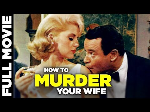 (New) How to murder your wife (1965) | romantic comedy movie | jack lemmon, virna lisi