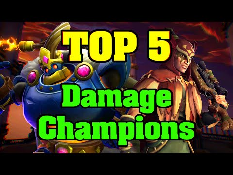 (New) Top 5 strongest damage champions in paladins - summer 2020 (season 3)