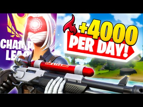 (VFHD Online) How to easily get 4000+ arena points a day! (fortnite battle royale)
