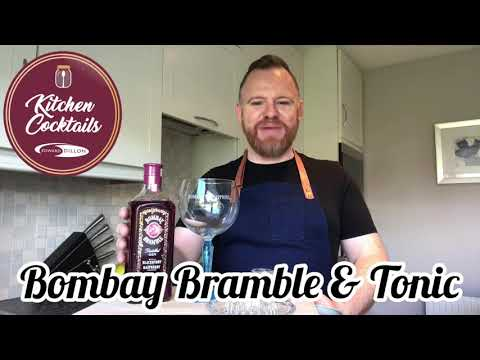 (New) Bombay bramble e tonic by kitchen cocktails