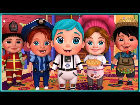 (VFHD Online) Jobs and career song , yes yes jobs song + the best songs for children - viola kids [hd]