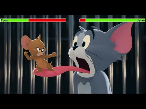 (HD) Tom and jerry (2021) trailer with healthbars