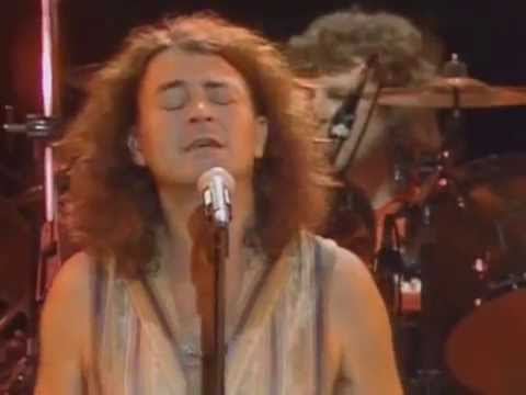 (New) Ian gillan when a blind man cries live