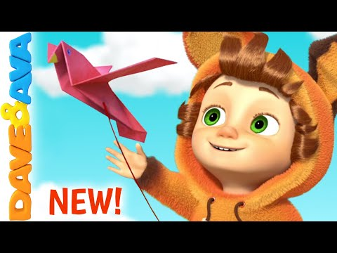 (New) 💕 two little dicky birds | dave and ava | nursery rhymes e kids songs 💕