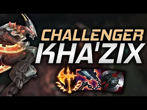 (New) This is what a challenger khazix main looks like in season 11 (ft. sybr)